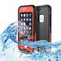 Tnp Iphone 6s / 6 Plus Estuche Estanco Al Agua (rojo) - La