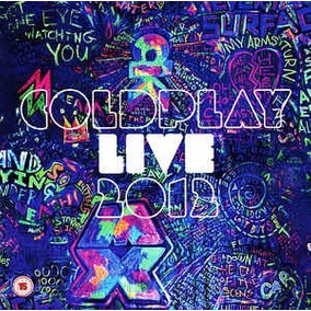 Coldplay Cd & Dvd: Live 2012 ( Argentina - Doble )