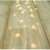 Tira Miniled Luz Hada 30 Fairy Light Centro De Mesa 15 Candy