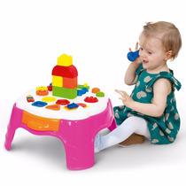 Mesa De Atividade Play Time Cotiplás - Rosa