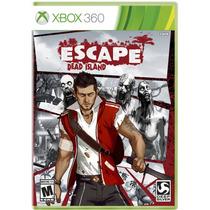 Escape Dead Island Xbox 360 Nuevo Envio Gratis Disco Fisico