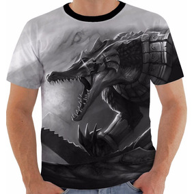 Camiseta Ou Babylook League Of Legends Renekton Lol Pb