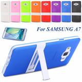 Capa A700 Tpu + Plástico Rígido Samsung Galaxy A7 Ultra Slim
