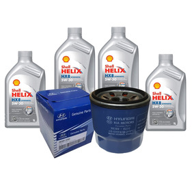 Oleo Filtro Oleo Motor Hyundai Elantra 1.8 16v Kit Original