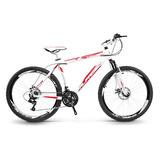 Bicicleta Alfameq Stroll Aro 26 Freio A Disco 21 Marchas