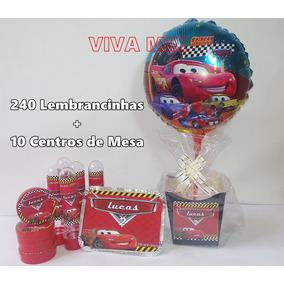 Kit Festa Infantil Lembrancinha Personalizada Carros C/250un