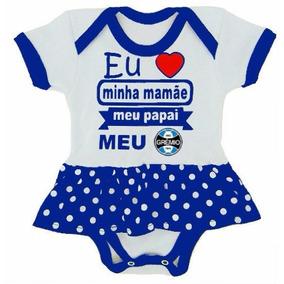Promoção Conj. Body Bebê Com Sainha Gremio Infantil