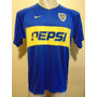 Camiseta Fútbol Boca Nike Libertadores 2003 Tevez #9 T. L