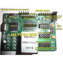 Kit Pic32 Web Ethernet Pic32 Mx440