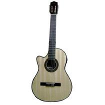 Guitarra Criolla Gracia Modelo M10 Zurdo Medio Concierto