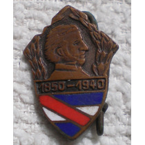 Pin Solapero 90 Años Aniversario Muerte De Artigas 1850-1940