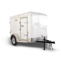 Remolque,caja Seca,motos,cuatrimotos,rampa,aluminio,1 Eje