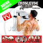 Iron Gym Xtreme Tonifica Tu Cuerpo Barra Para Puerta