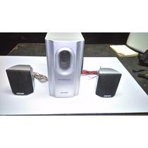 3 Caixas Do Home Theater Semp Toshiba Mod Xb-1207