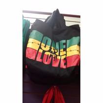 Bolsa De Tecido (tipo Sacola) Bob Marley