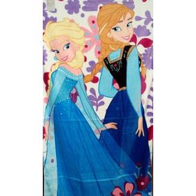 Toalla Frozen Elsa Anna Disfraz Original Disney Store