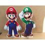 Displays Mario E Luigi De 80 Cm Cada + 2 De Mesa Gratis