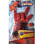 Guante Lanza Tazos Spiderman Y Ironman