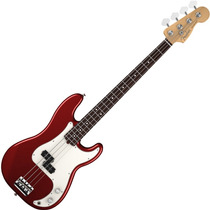 Contra Baixo Fender Precision Bass Americano Am Standard Red