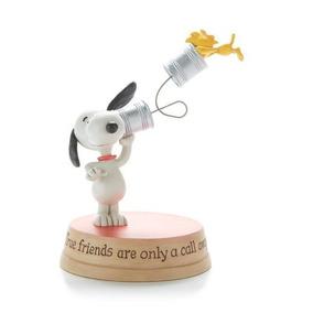 Figura Snoopy Y Emilio Telefono Con Lata - Hallmark
