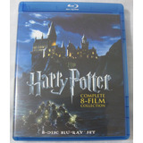 La Coleccion Completa De Harry Potter En 8 Bluray Originales