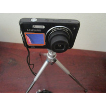Máquina Fotográfica 16mp Samsung 2 Visor 32 Gb + Acessórios