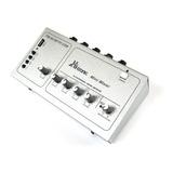 Mixer De Audio 4 Canales Para Microfonos Y Lector Usb