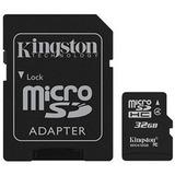 Micro Sd Kingston - 32gb - Clase 10 - Ideal Filma Hd - 1080p