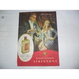Atkinsons Locion Colonia Etiqueta Roja Perfume Frasco Envase
