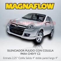 Mofle Silenciador Deportivo Con Colillas Magnaflow Par Chevy