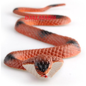 Cobra Coral Realística Em Borracha Serpente Coral