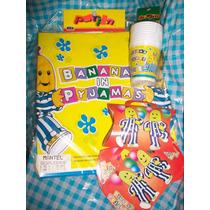 Bananas En Pijamas Cotillón Para Cumpleaños