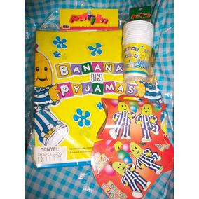Bananas En Pijamas Combo Cotillón Para Cumpleaños