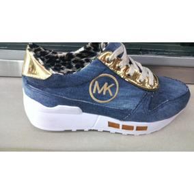 Zapatos, Calzado Bota Mk Deportivo Dama Casual Oferta