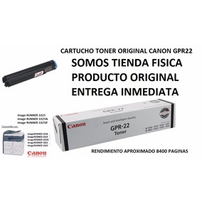 Cartucho Toner Original Canon Gpr-22 Nuevo Tienda Fisica
