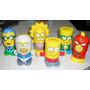 Coleccion Completa 6 Super Heroes Los Simpsons Burger King