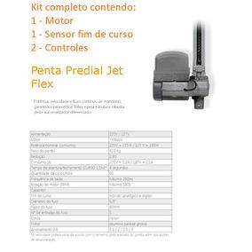 Kit Motor Portão Automático Basculante Penta Jet Flex Ppa