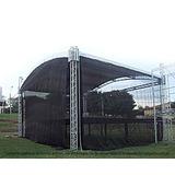 Tela Preta Proteção Palco Tenda Evento Cobertura 8x6 Mts