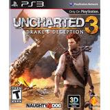 Uncharted 3 Ps3 Nuevo Original Fisico Caja Sellada