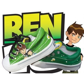 Zapatillas Pintadas/customizadas Personalizadas Ben 10