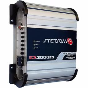 Módulo Amplificador Stetsom Ex-3000 Eq Até 3600w Rms + Frete