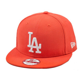 Bone New Era Los Angeles Laranja - Bonés para Masculino no Mercado ... b9af78a16e4