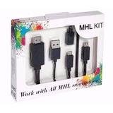 Convertidor Mhl Usb V8 A Hdmi Full 1080p Smartphone Tv