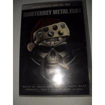 Monterrey Metal Fest Dvd Edicion Especial Vol 1 Y 2 Rock