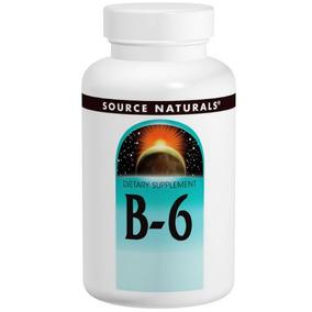 Vitamina B6 100 Mg 100% Original 100 Tab. (envío Gratis)
