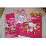 Mantel Servilletas Bolsa Kitty Barney Feliz Cumple