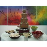 Cascata De Chocolate Torre 3 Andares Pronta Entrega
