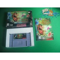 Timon E Pumbaas Jungle Games Para Super Nintendo