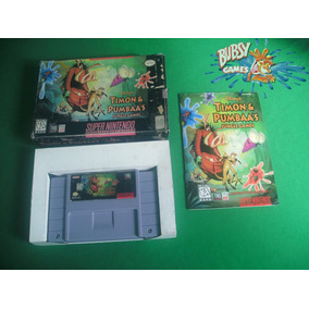 Timon E Pumbaas Jungle Games Para Super Nintendo