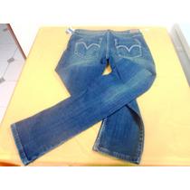 Pantalon Jeans Dama Levis Stress Talla 1m. (nh-03)